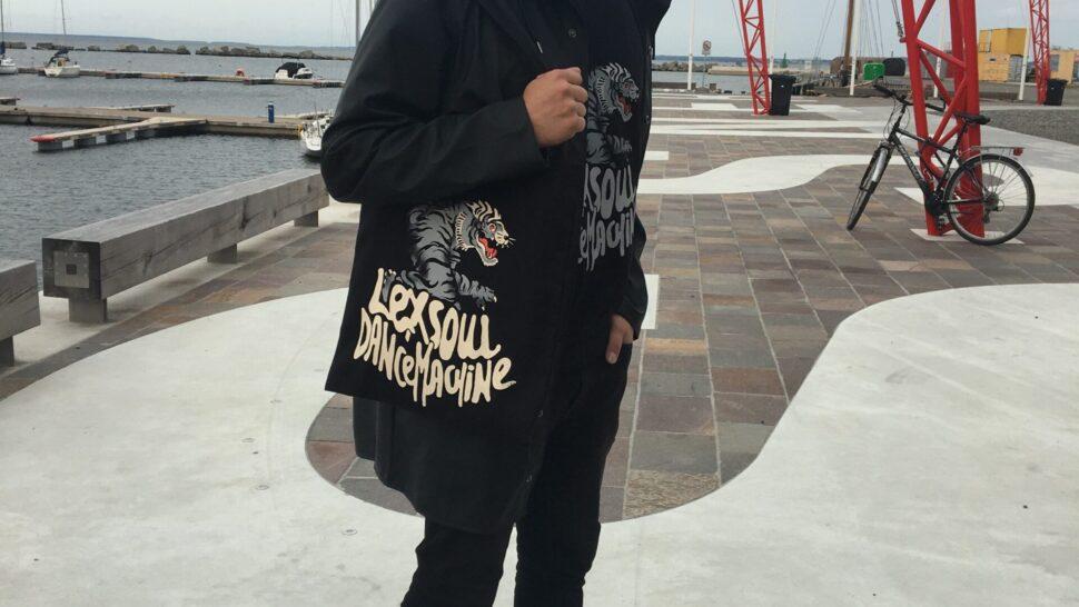 Nu Lexsoul Dancemachine tote bag available