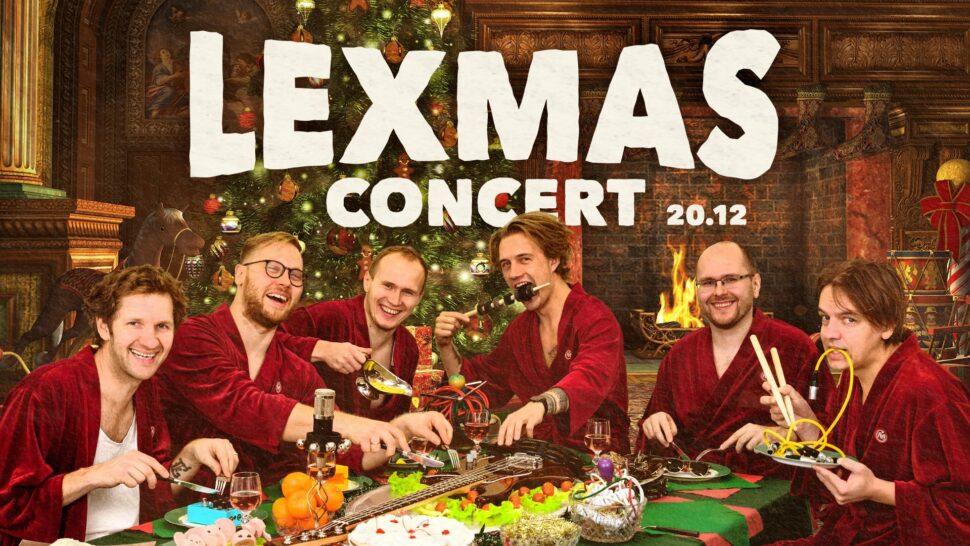 """LEX-Mas concert & """"LExplosion II"""" Doc premiere"""